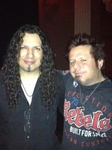 Oz Fox ( Stryper ) with Gavin @ Sunset Station Henderson NV